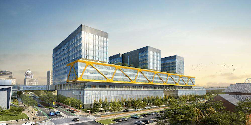 New Caterpillar global HQ and campus