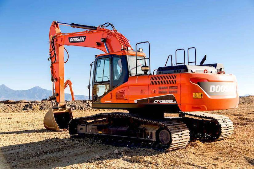 Doosan DX255LC-5 excavator