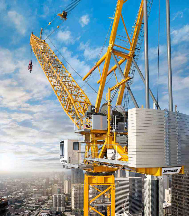 Liebherr Intermat crane introductions