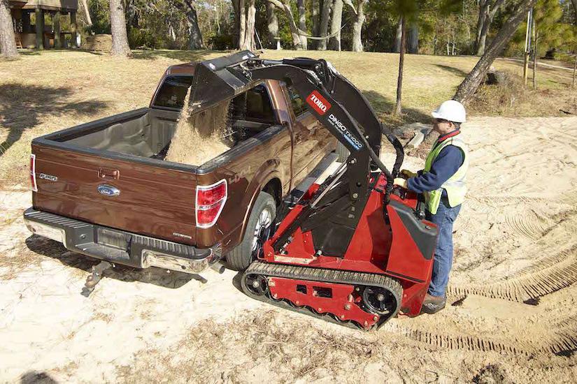 Toro Dingo TX 1000 compact utility loader