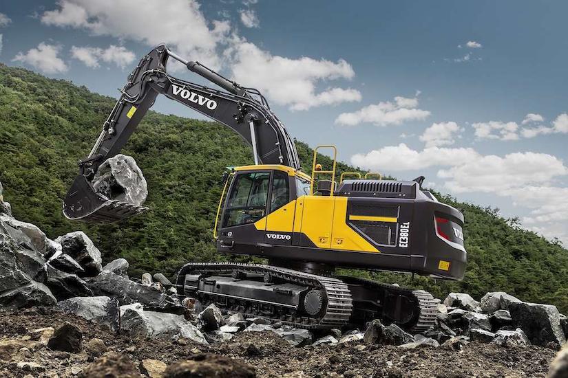 Volvo CE EC380 excavator