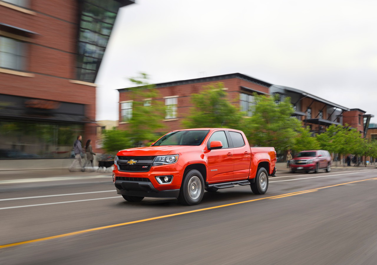 GM unveils diesel 2016 Chevrolet Colorado, GMC Canyon with