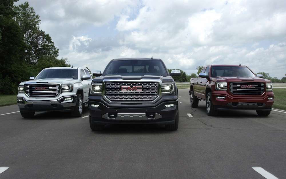 GM unveils 2016 Chevrolet Silverado, GMC Sierra with ...