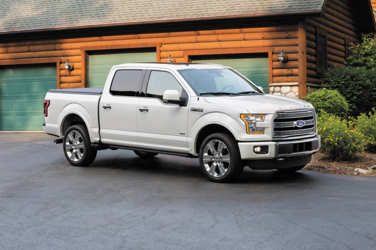ford unveils the 2016 f 150 limited raises bar on luxe. Black Bedroom Furniture Sets. Home Design Ideas