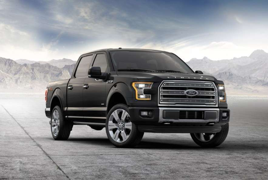 Ford Unveils The 2016 F 150 Limited Raises Bar On Luxe Trucks