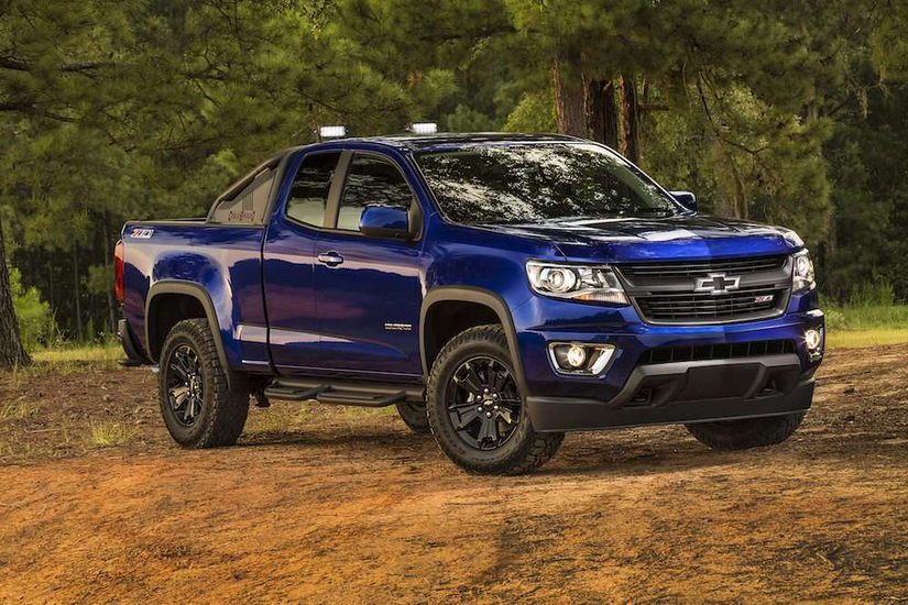 Chevrolet unveils the 2016 Colorado Z71 Trail Boss: a ...