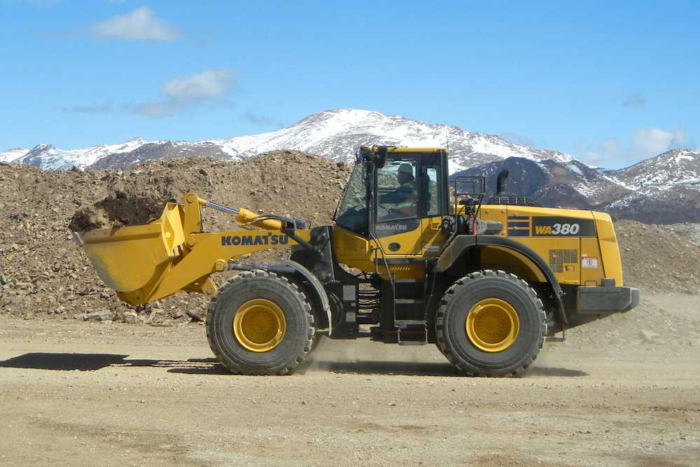 Komatsu Launches Wa380 8 Wheel Loader With Improved Power