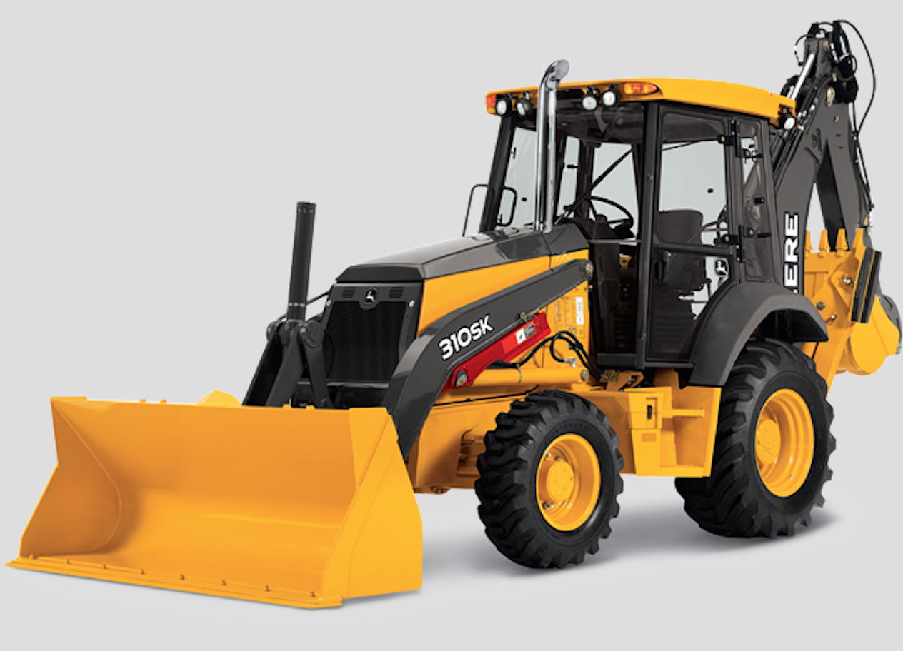 Tractor Implements And Attachments : John deere sk backhoe review