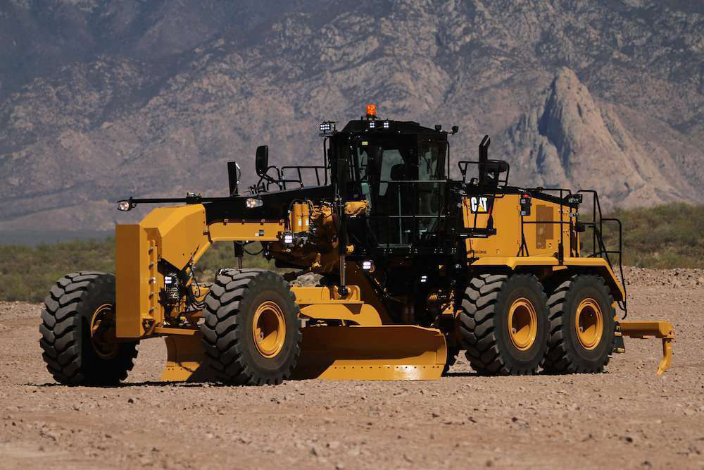Caterpillar Launches 16m3 Motor Grader With Improved