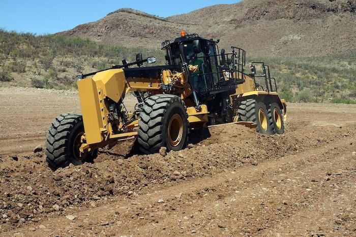Caterpillar 16M3 motor grader 2