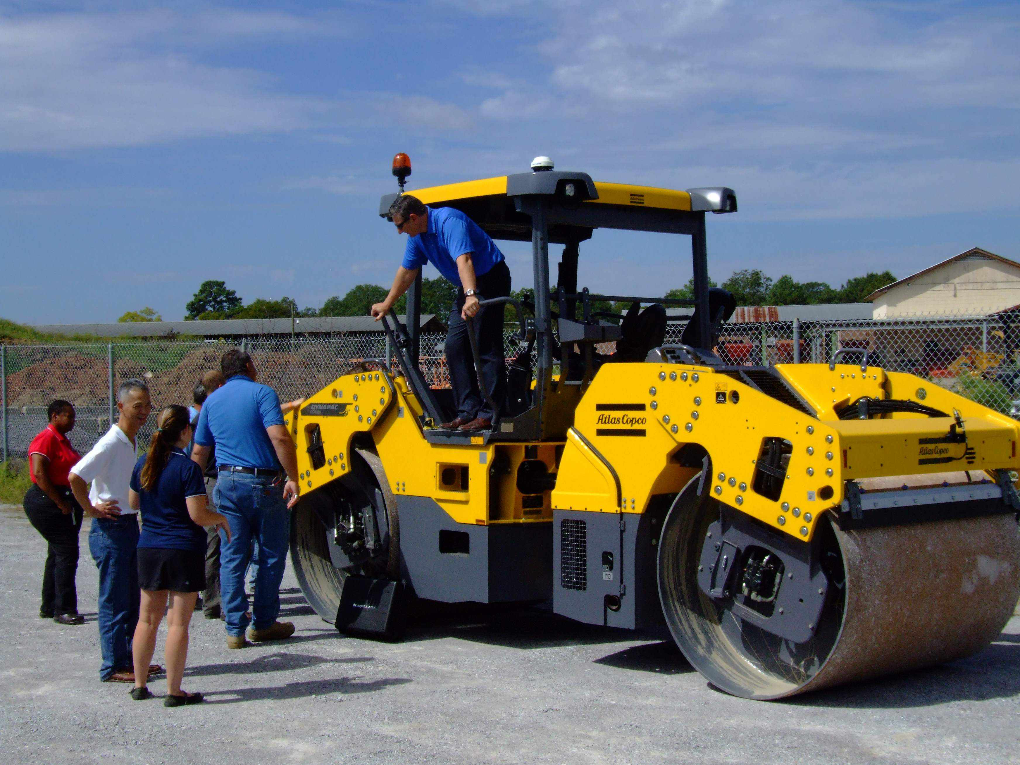 PHOTOS: FHWA intelligent compaction demonstration, open