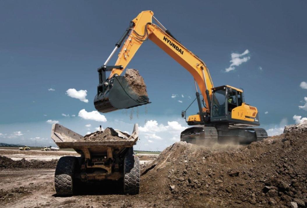 Hyundai HX Series of excavators X220L, HX260L, HX300L, HX330L, HX380L, HX480L and HX520L