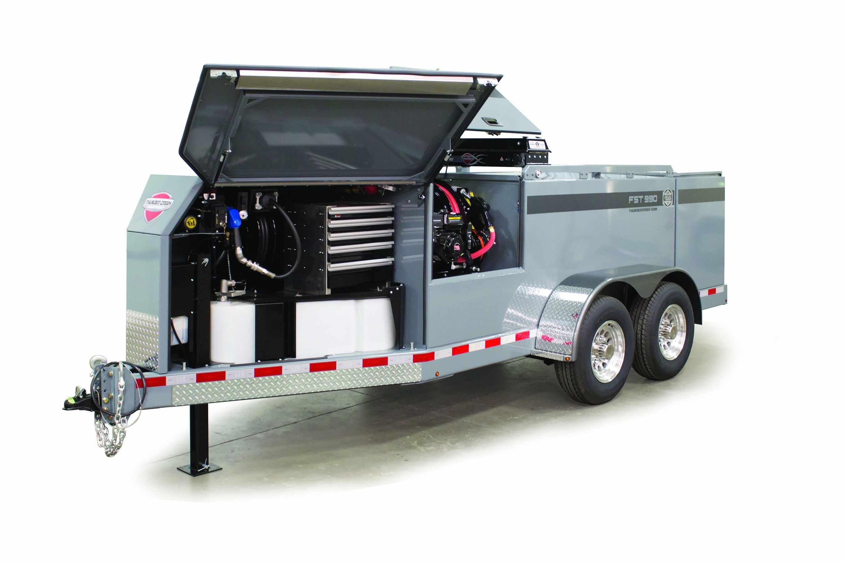 Thunder Creek Equipment FST Series trailer
