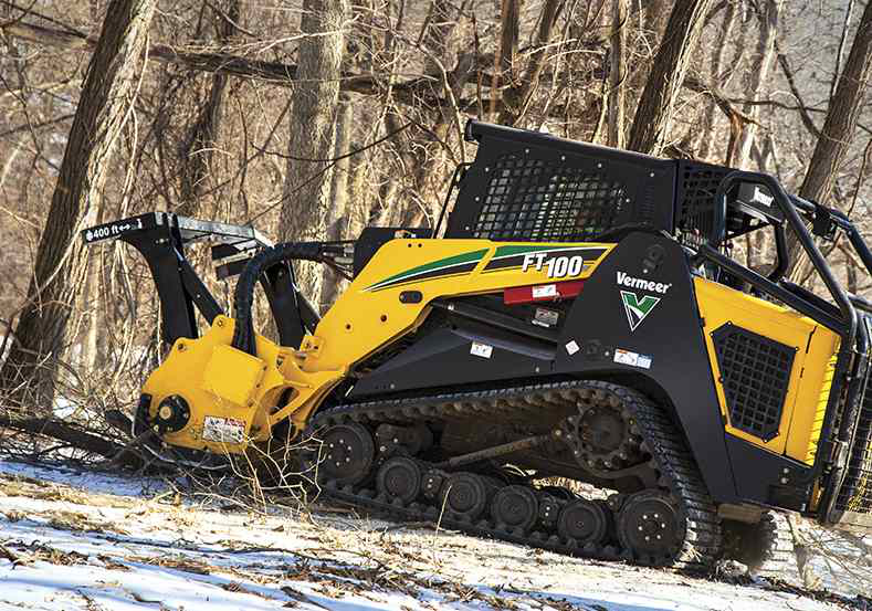 Vermeer's new FT100, FT300 forestry tractors designed for