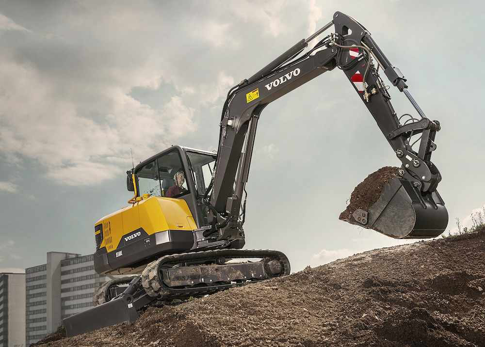Volvo CE intros EC60E excavator for big and small jobs alike with 20