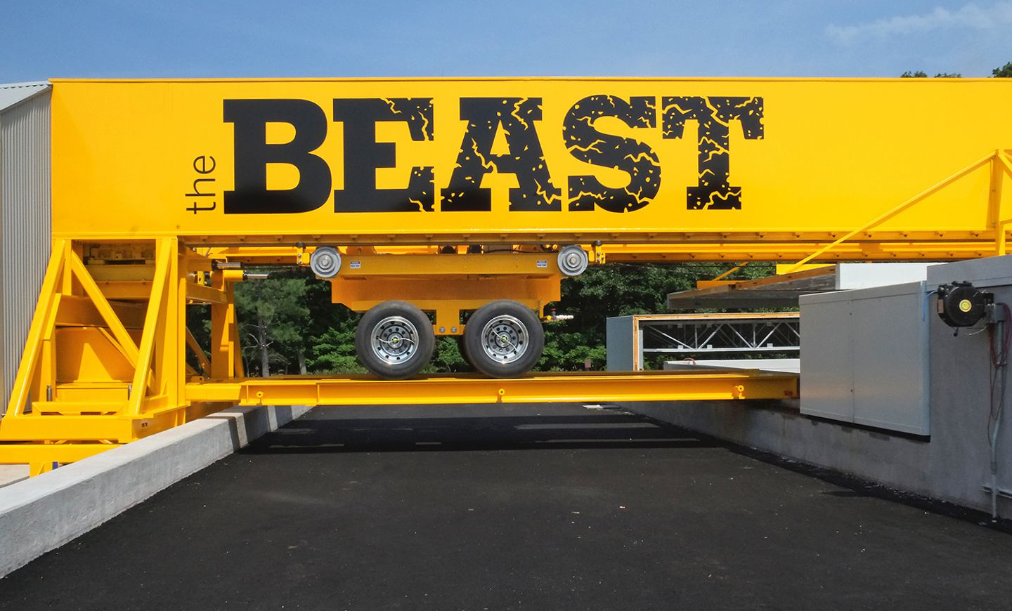 BEAST assembled, before sample placement (June 11, 2015)