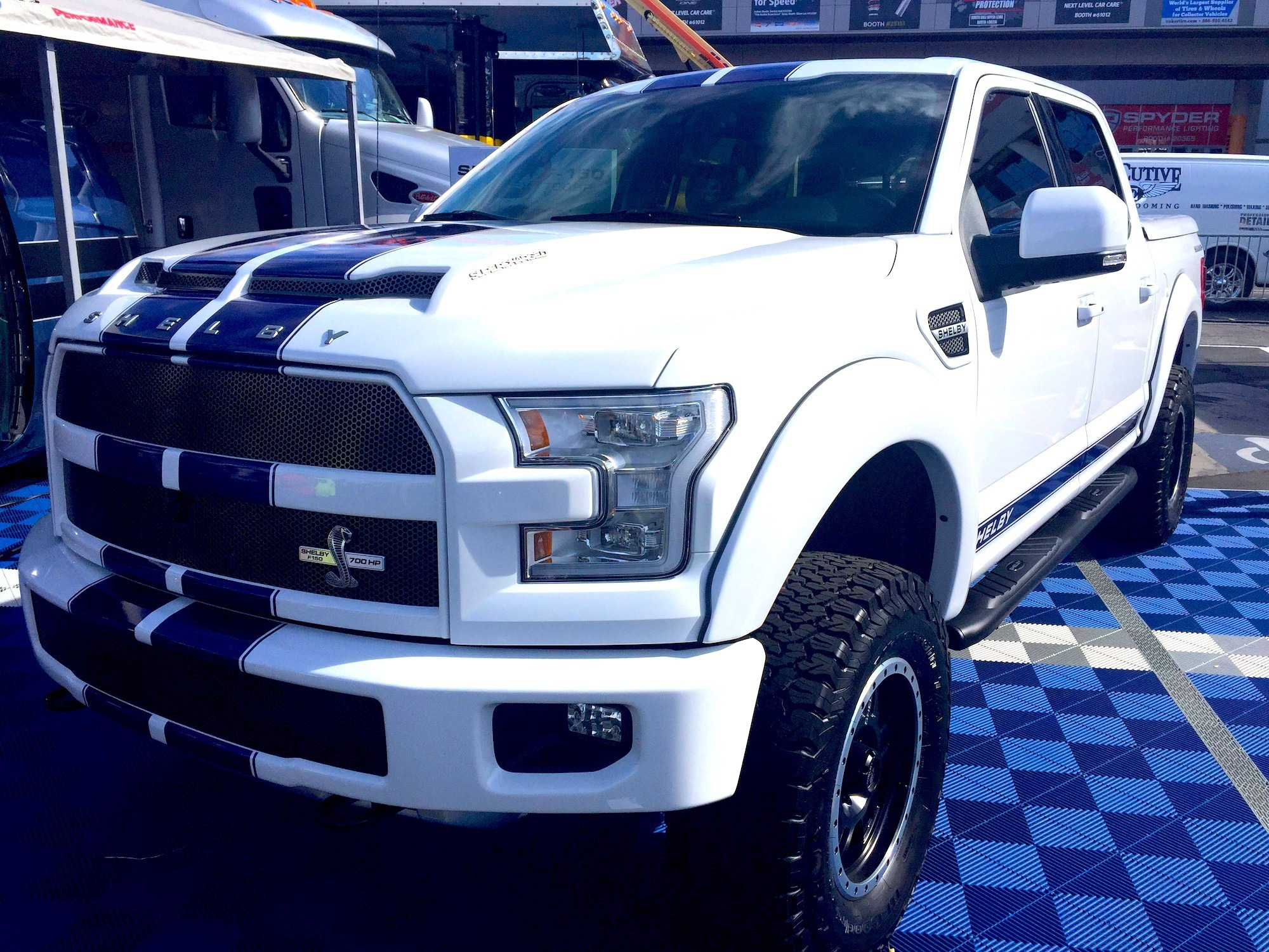 F 150 Cobra >> Shelby Unveils Its 700 Hp F 150 Equal Parts Off Roader And Race