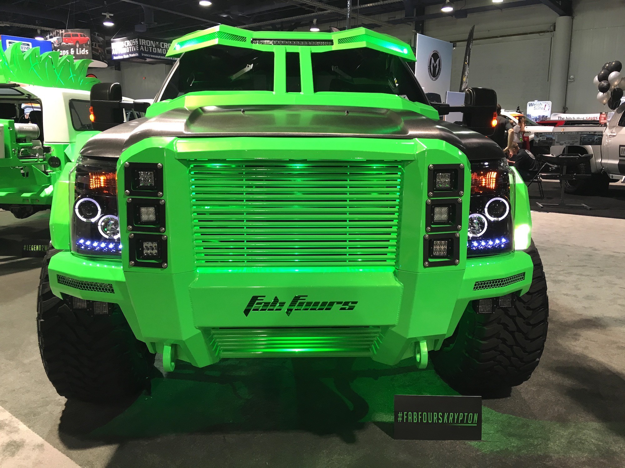 Krypton Ford F 350 With Sinister Visor 40 Inch Tires Is