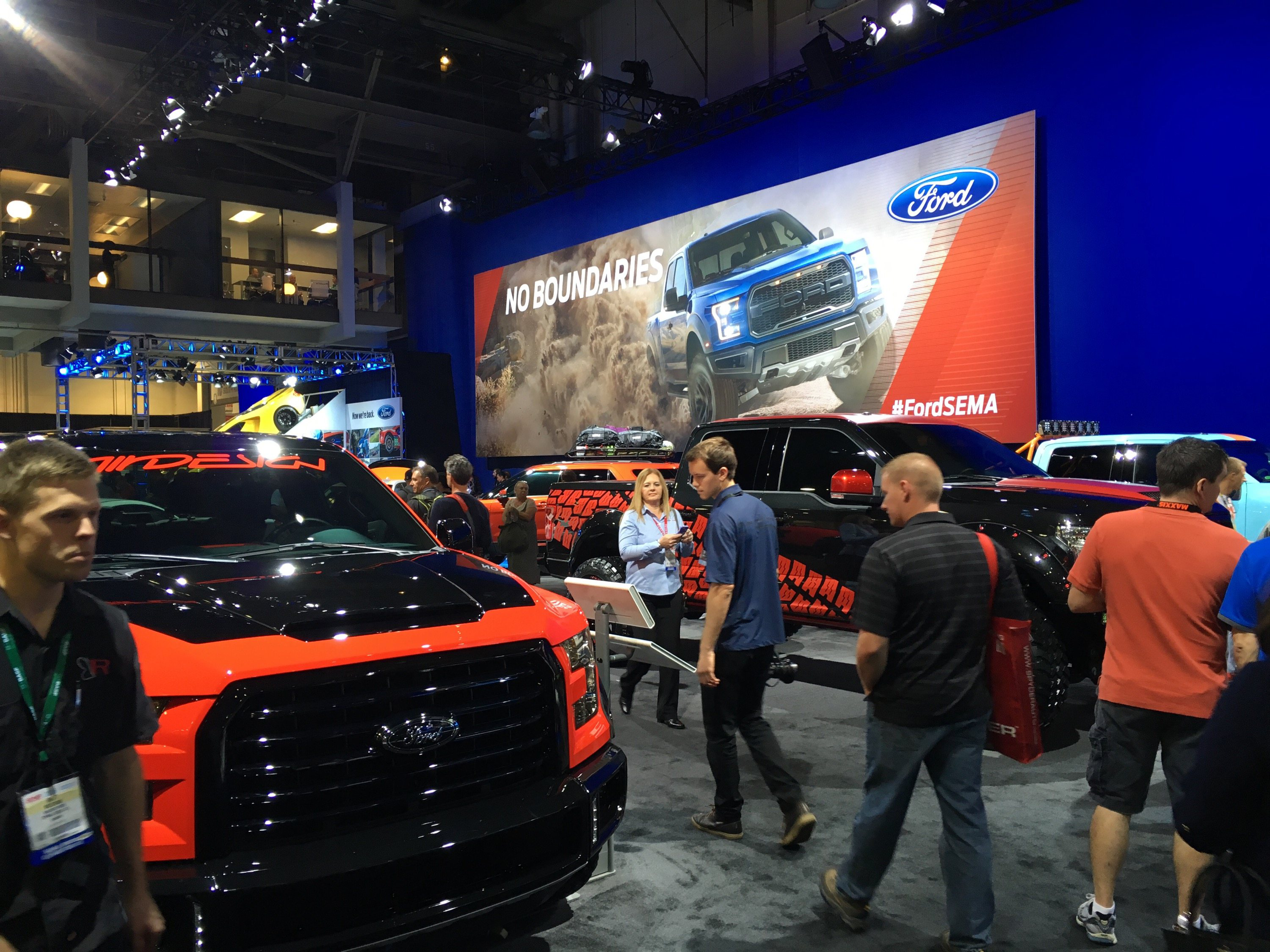 ford f series crowned hottest truck at sema show. Black Bedroom Furniture Sets. Home Design Ideas