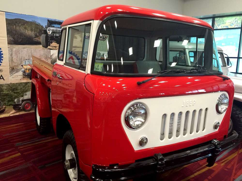 Jeep Willys 1955 >> PHOTOS > Vintage Jeep trucks display 3 eras of company's glorious pickup past at SEMA