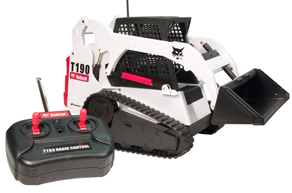 2nd Day of Construction Gifts: Bobcat T190 RC compact track