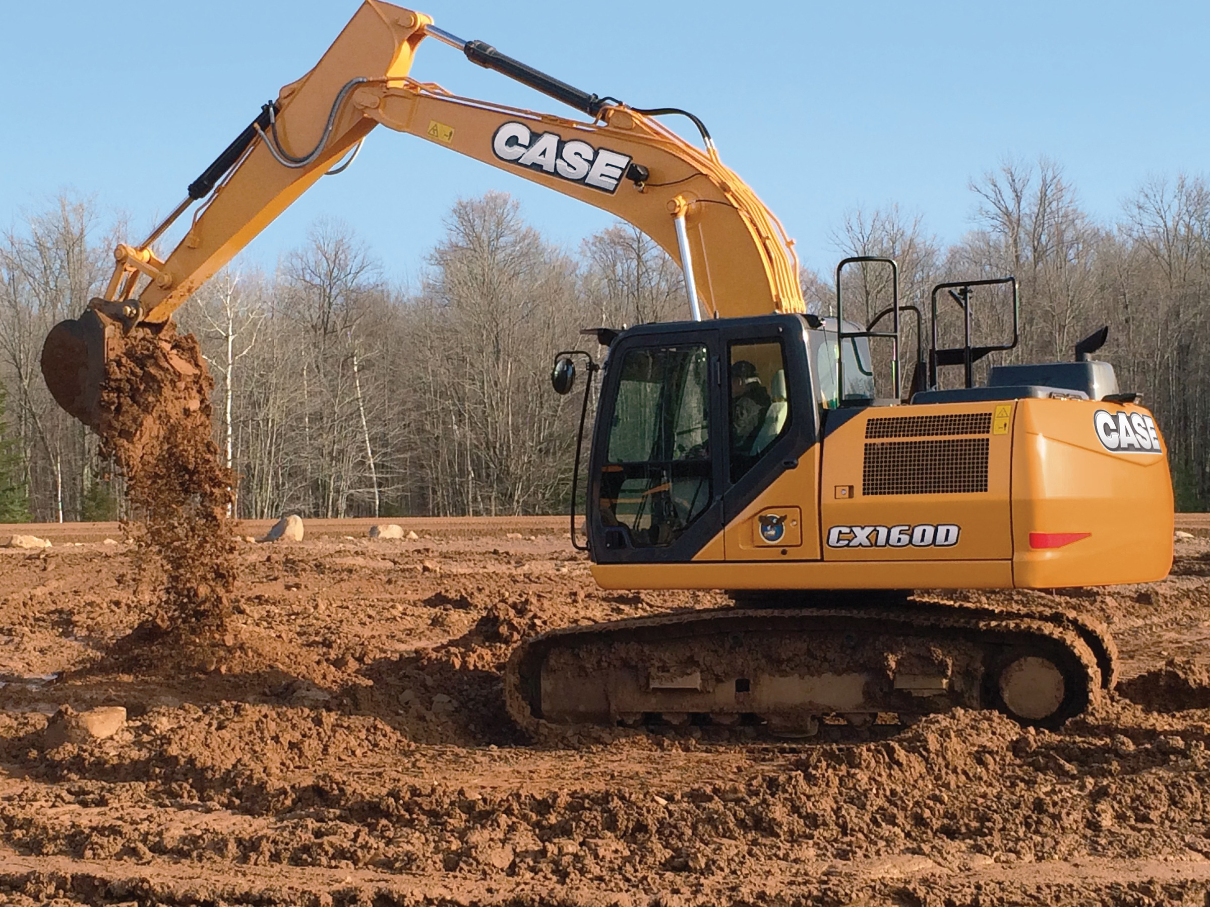 Case Ce Unveils Cx130d Cx160d Excavators With Improved