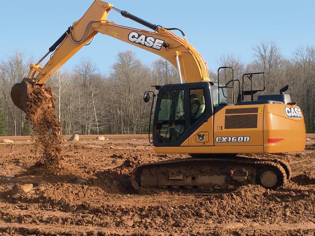 CX160D excavator
