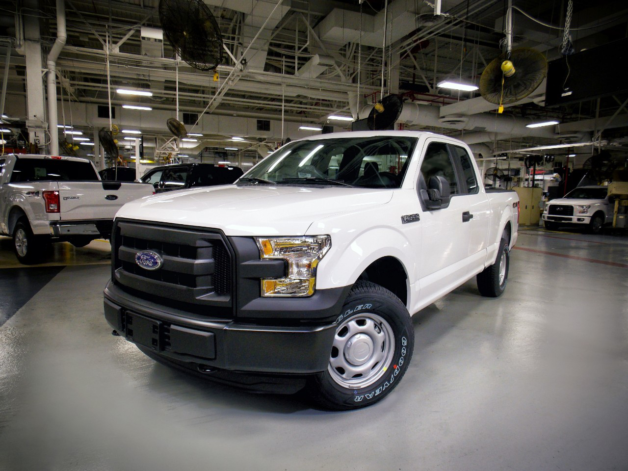 First CNG/propane 2016 Ford F-150s rolling off the ...
