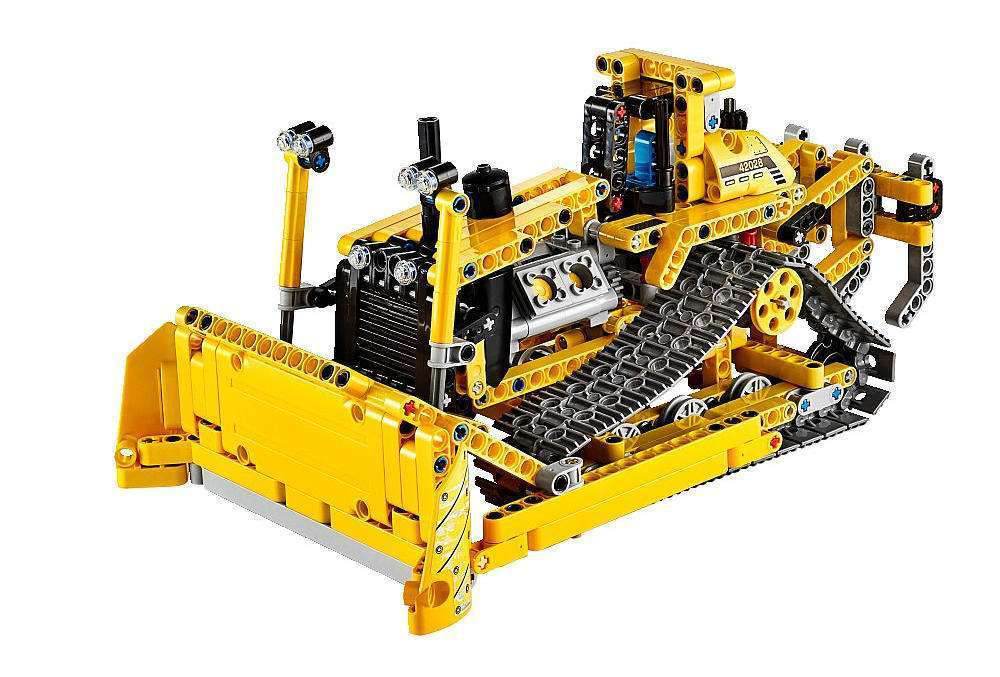 12th day of construction gifts lego technic bulldozer. Black Bedroom Furniture Sets. Home Design Ideas
