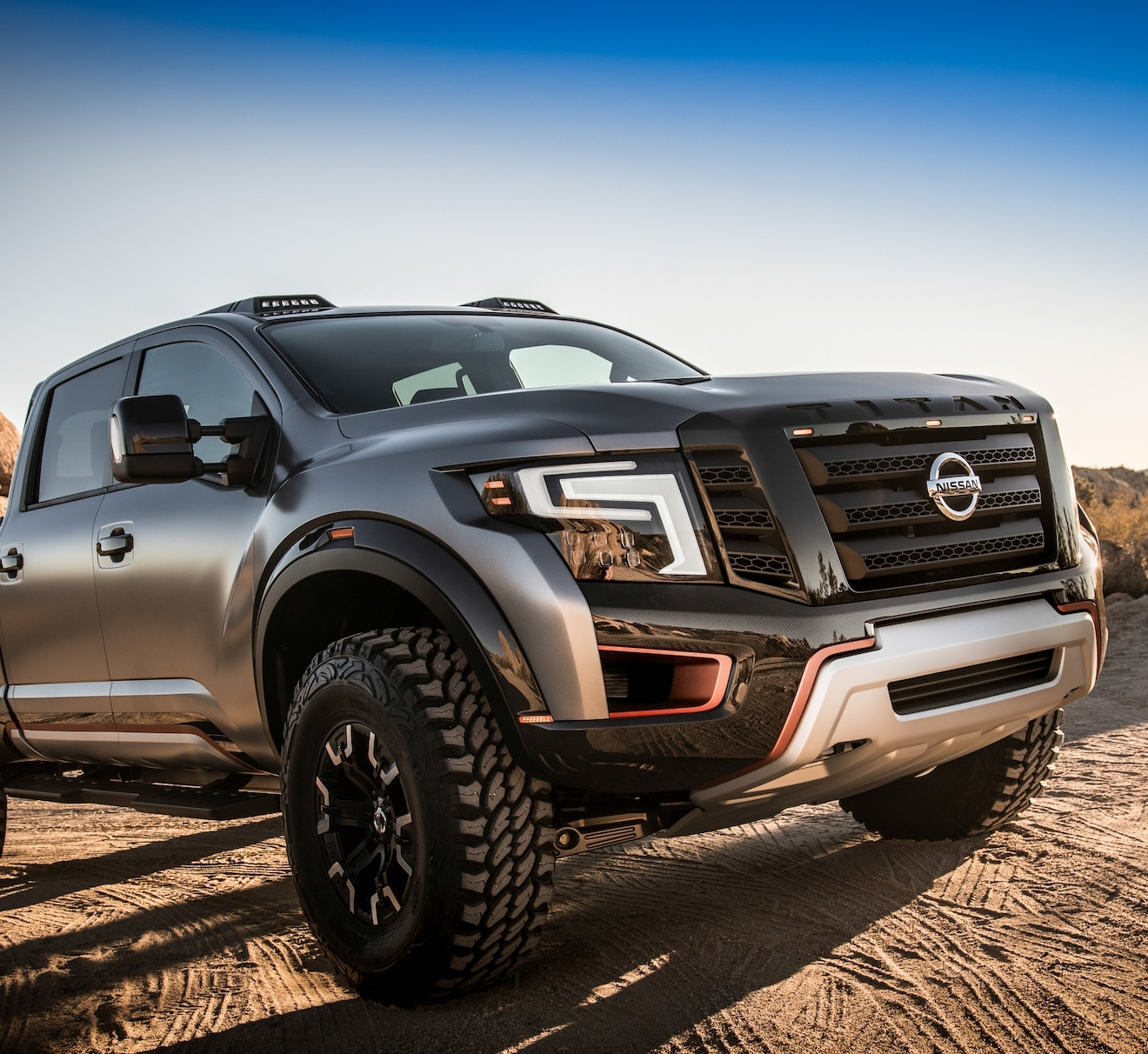 Nissan Unveils The Titan Warrior An Off Roading Concept