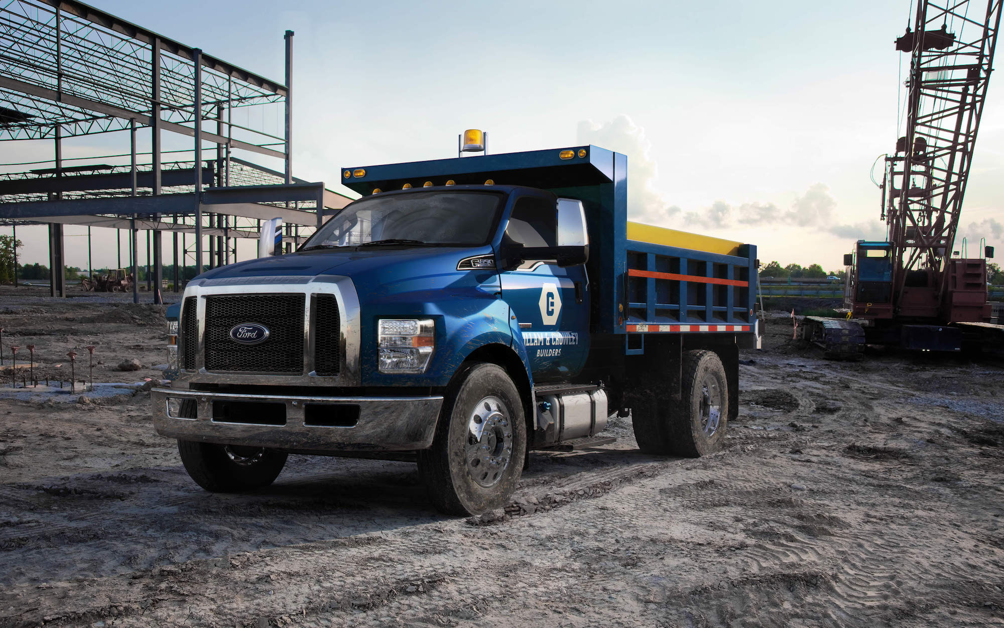 Build A Ford Truck >> Ford Volkswagen To Build Medium Duty Trucks Vans In New Partnership