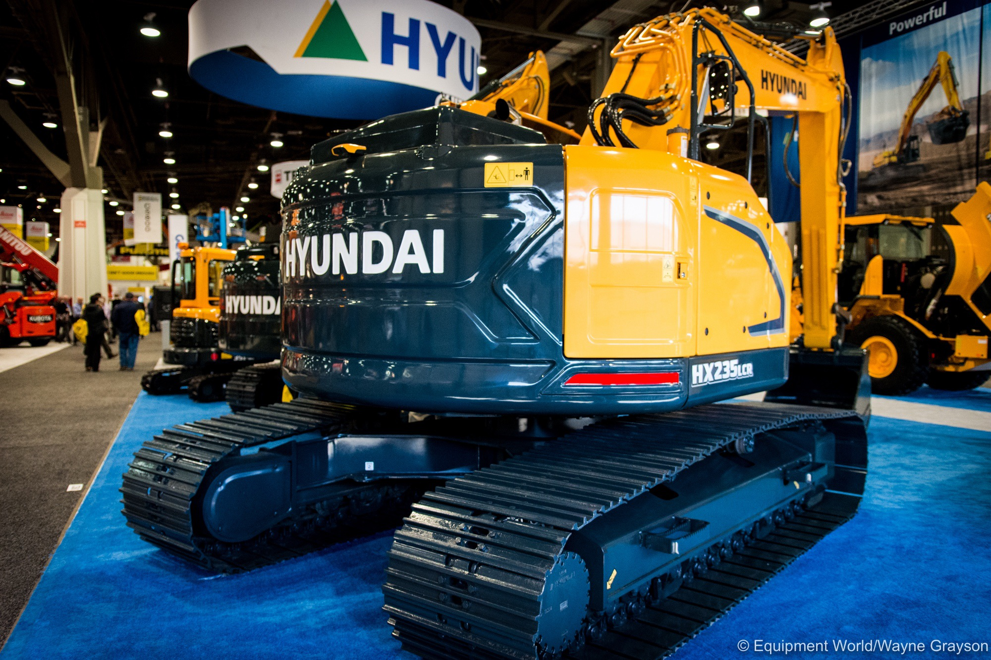Hyundai Unveils 2 New HX Series Excavators But With A Slightly