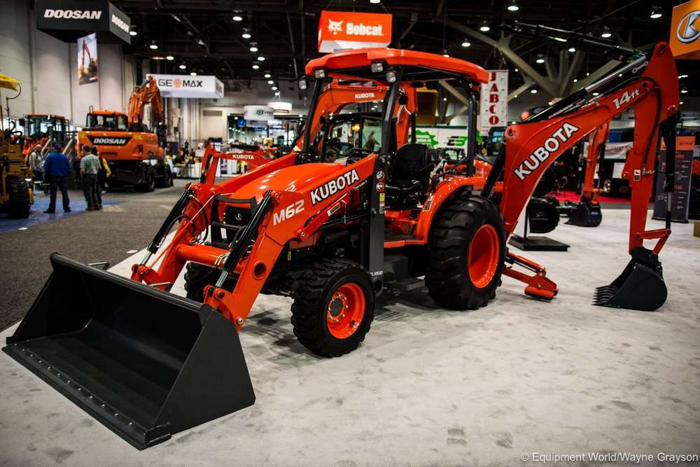 Kubota intros L47, M62 tractor-loader-backhoes with more power
