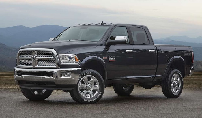2017 Ram 2500 Crew Cab with 4×4 Off-road package