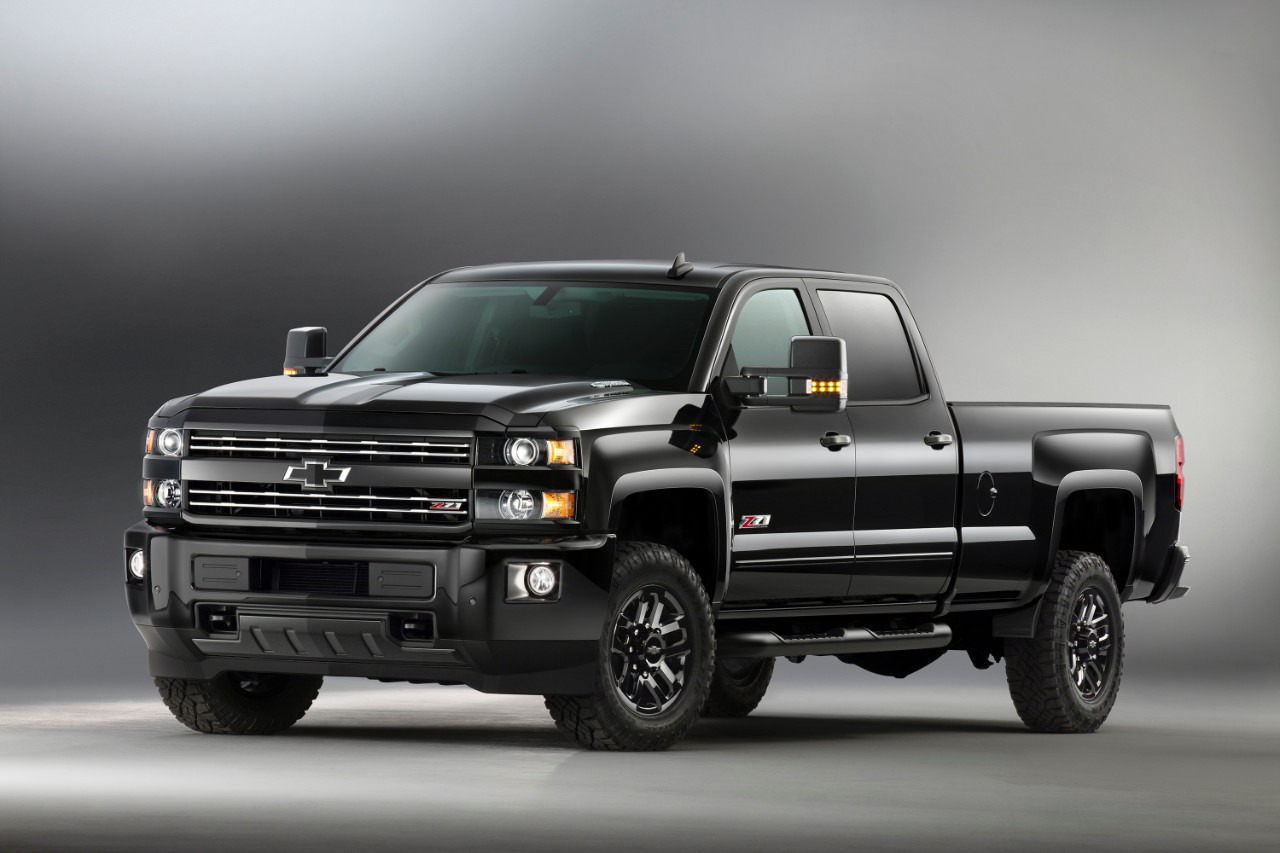 Truck chevy 2500hd trucks : Chevrolet unveils 2016 Silverado 1500, 2500 Z71 Midnight Editions ...