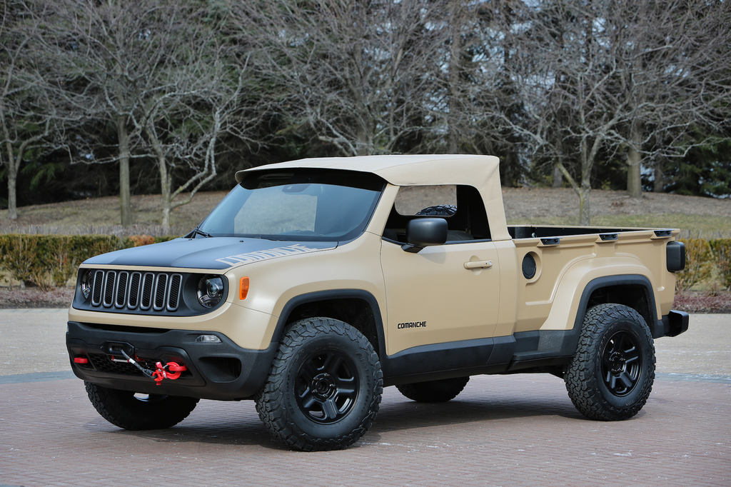 Jeep Also Owned By Ram Pa Company Fiat Chrysler Recently Unveiled A Midsize Pickup