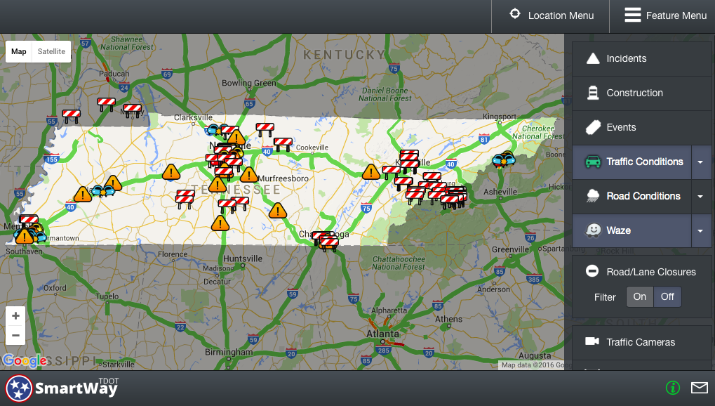 Tennessee DOT partners with Waze navigation app for ...