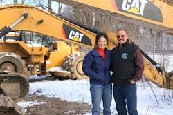 Dawn and Greg Tatro, owners of G.W. Tatro Construction