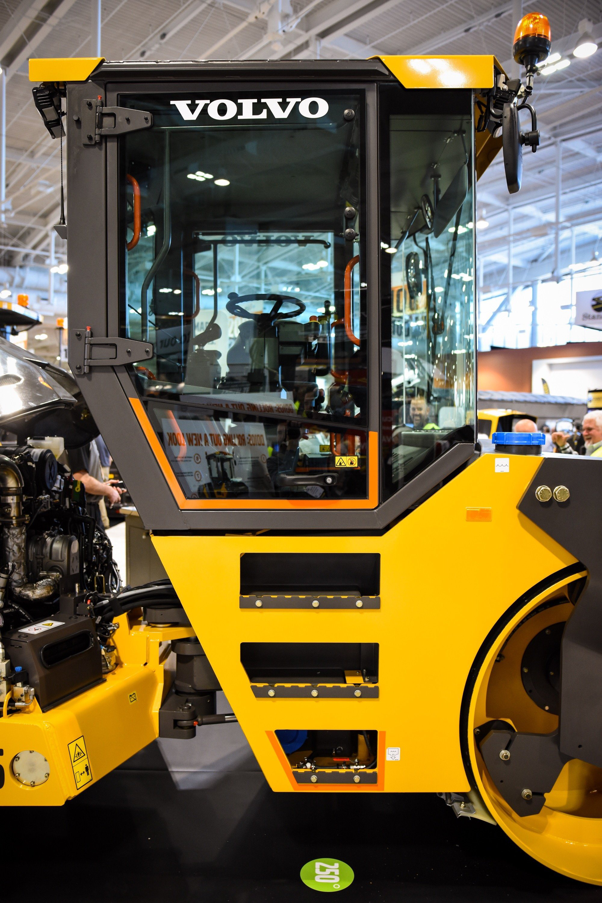 Volvo unveils the DD105: New compactor design boasts faster eccentric, better visibility ...