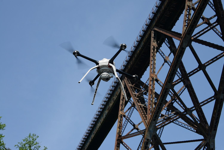 Kansas Dot Program Testing Drones For Bridge And Tower
