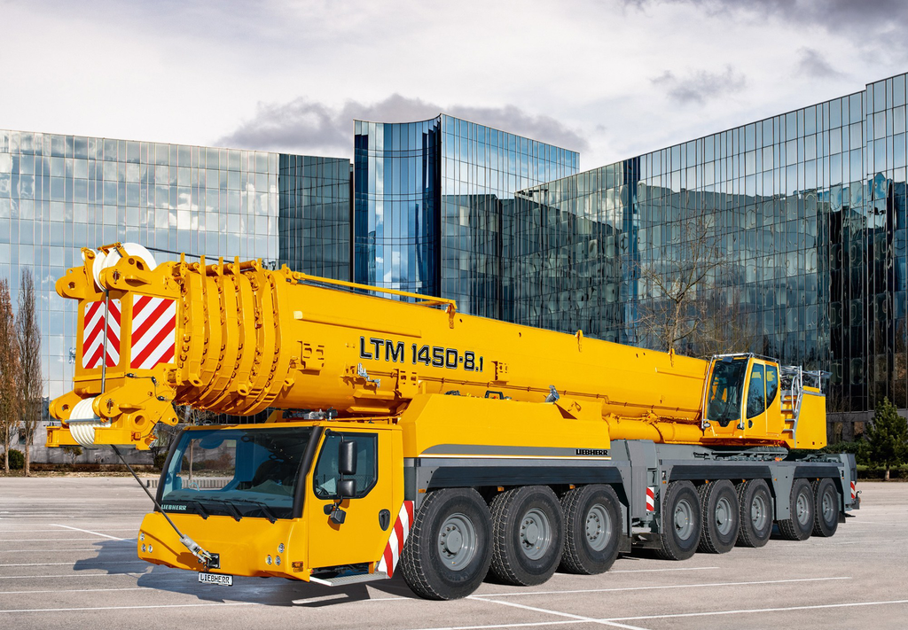 liebherr unveils ltm 1450 8 1 crane with 500 ton capacity. Black Bedroom Furniture Sets. Home Design Ideas