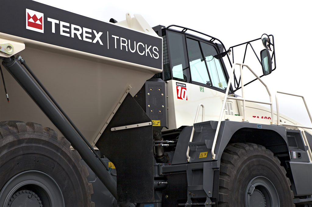 Terex Generation 10 TA400 artic 3