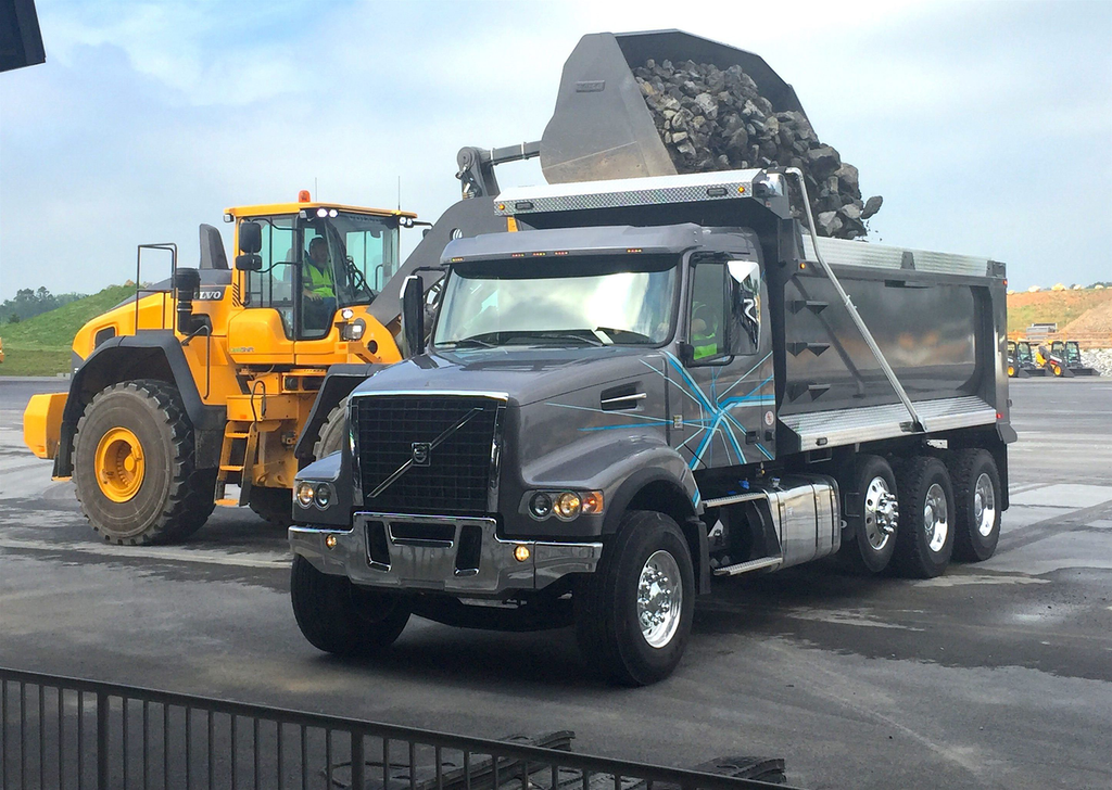Test Drive: Volvo I-Shift AMT with crawler gears in dump application