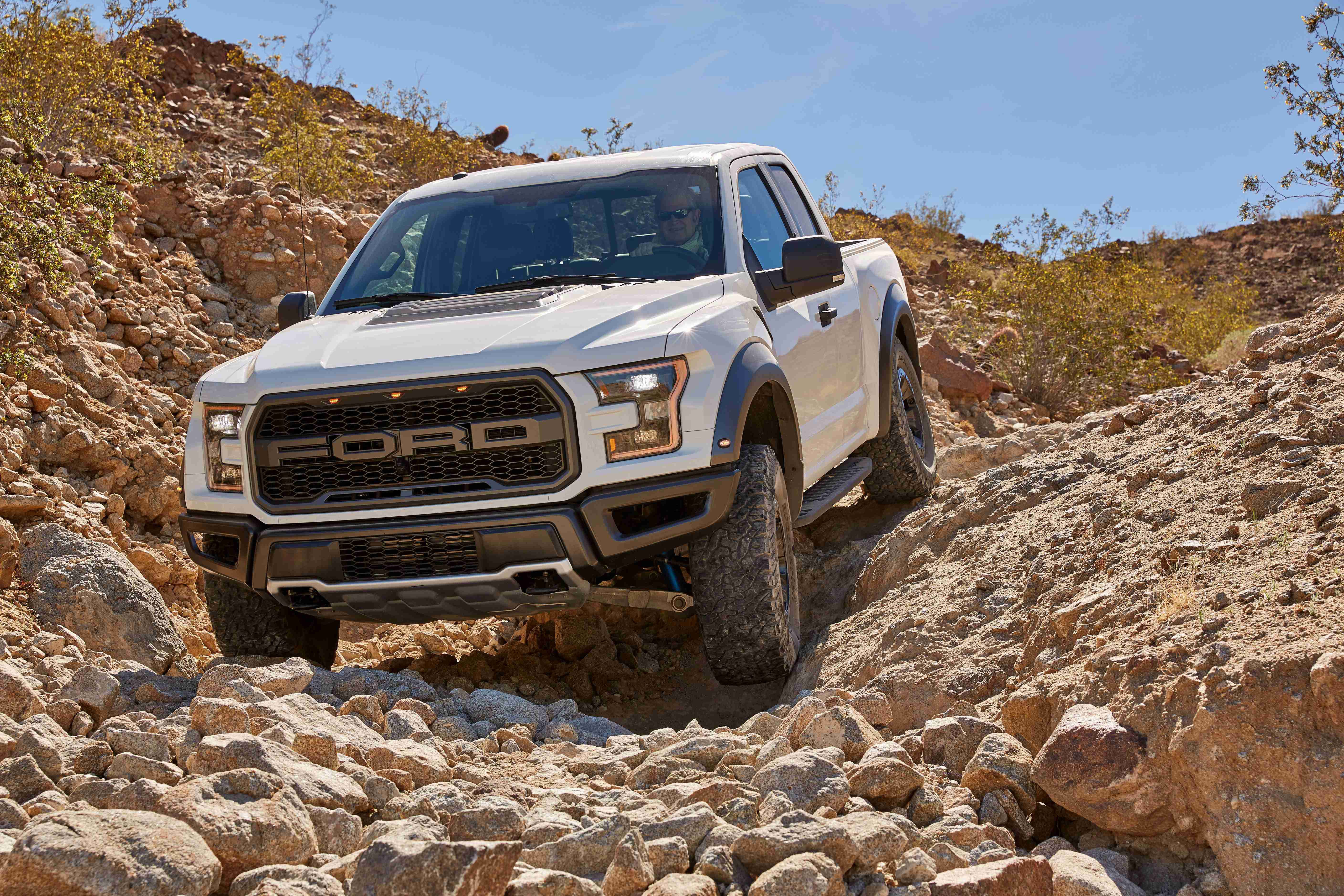 VIDEO 2017 Ford F 150 Raptor shreds smarter with 6 new terrain modes