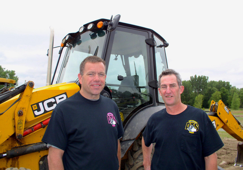 Associated Training Services recently celebrated its 20-year anniversary providing heavy equipment operator training. Training Director Mike Plonsky (left) and President John Klabacka, run the school.