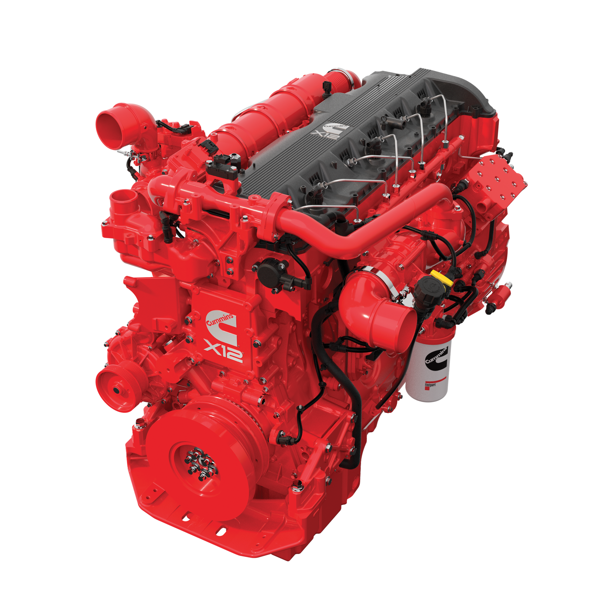 Cummins unveils X12 X15 engines for 2017 rebrands heavy duty lineup