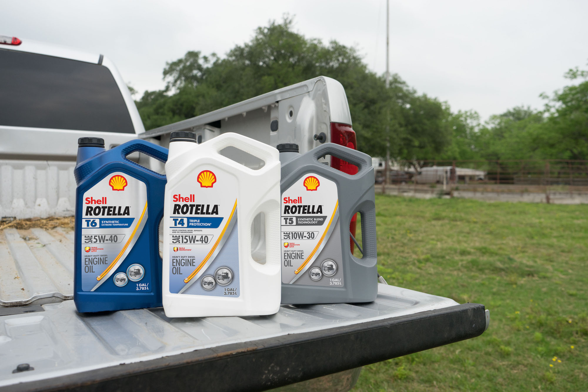 How the new pair of heavy-duty diesel engine oil