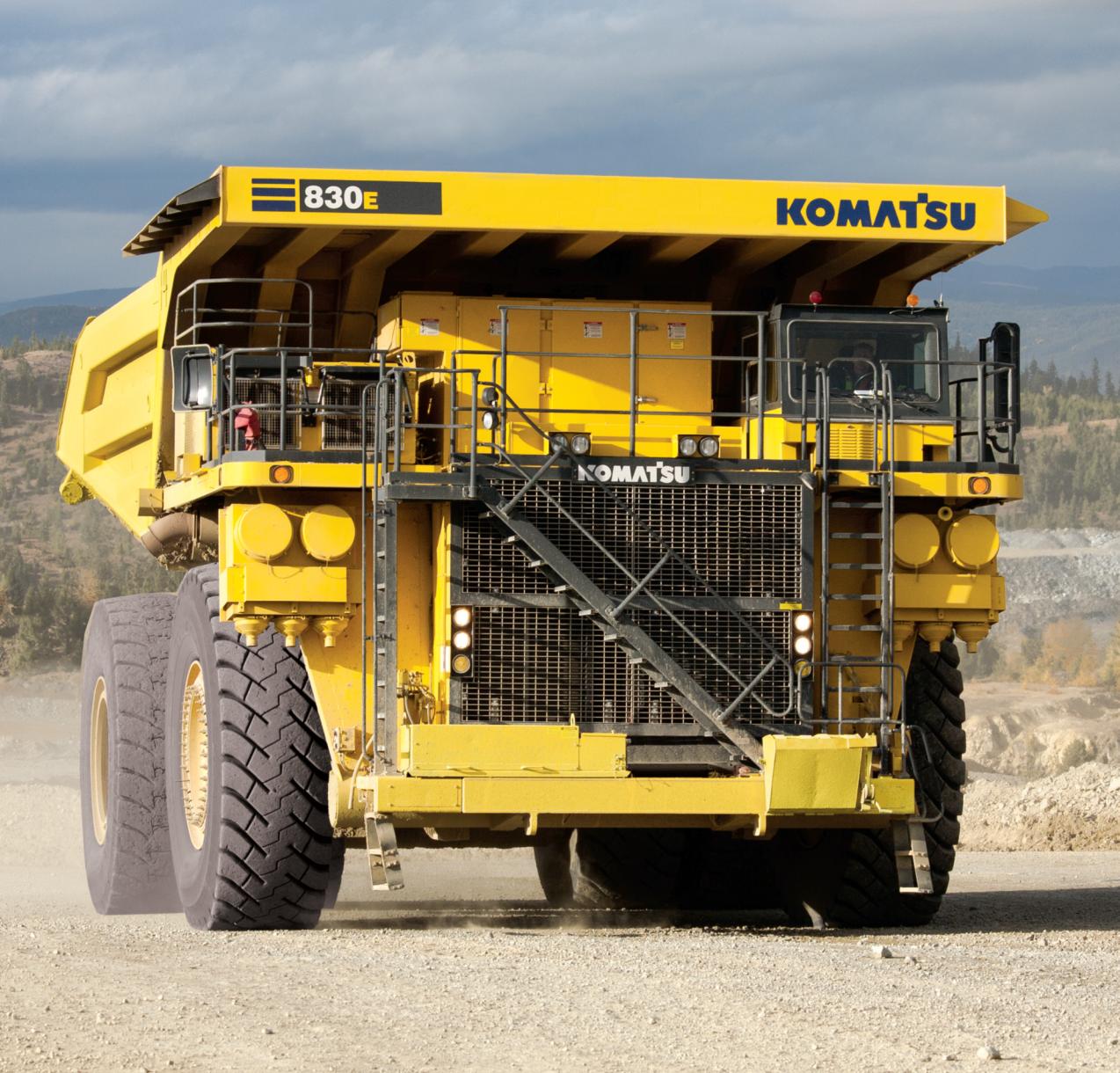 Komatsu 830e 1ac Electrick Drive Truck Mining