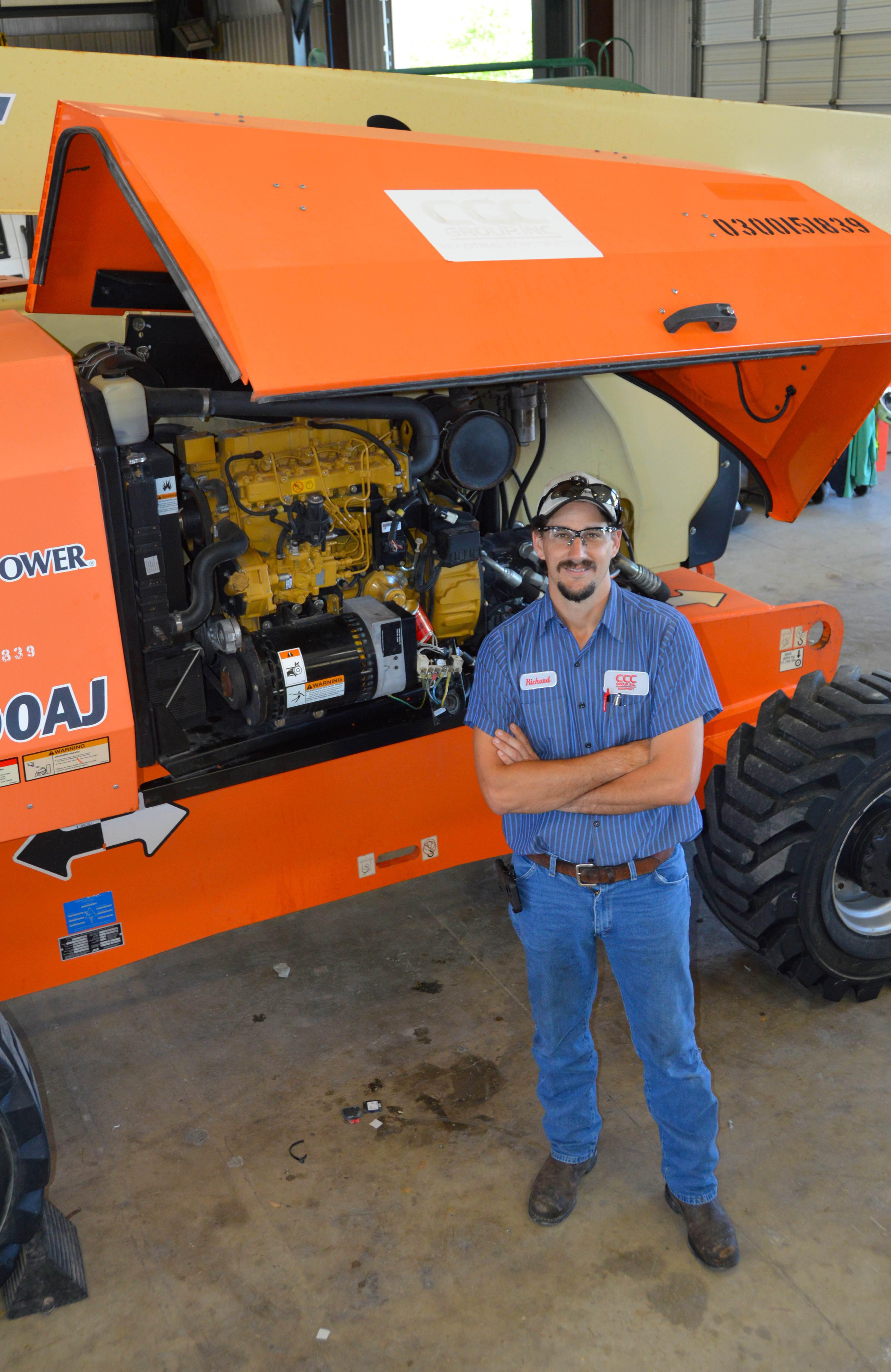 Richard Waitz, AEMP Technician of the Year Finalist.