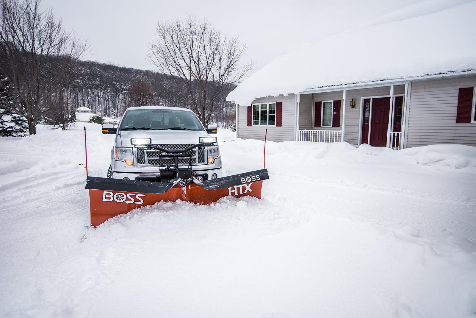 Boss Snowplow Introduces Htx V Plow For Light Duty Trucks
